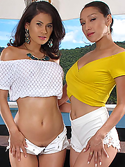 Vicki and Vanessa in Fun For Two by In The Crack
