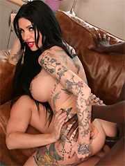 Megan Inky gets double penetrated in the principal's office