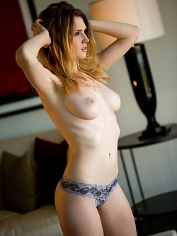 Ashley Lane loves to put her beautiful breasts on display