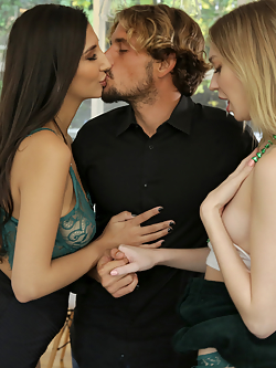 Gianna Dior has been hanging out with Mackenzie Moss, who is married to her brother in law, Tyler Nixon. Tyler is in much better shape than Gianna's husband, and to top it off, Gianna finds that she's attracted to Mackenzie in addition to Tyler. Eventually, Gianna hatches a plan to get everything she wants.