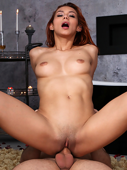 Veronica Leal has agreed to be interviewed about her fantasy. First she describes her normal sexual needs, which are a little bit rough and rowdy. Then she shares that her fantasy is to be taken slow and sweet in a romantic setting by an Italian man. Raul Costa is happy to help Veronica live that fantasy out.