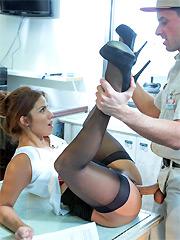 Isabella De Santos Stockings
