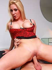 Victoria Summers rides her employees dick