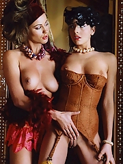 Nika Mamic and Kyla Cole